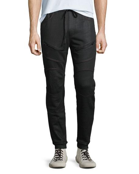 c12d39617 True Religion Men s Moto Active Sweatpants In Black