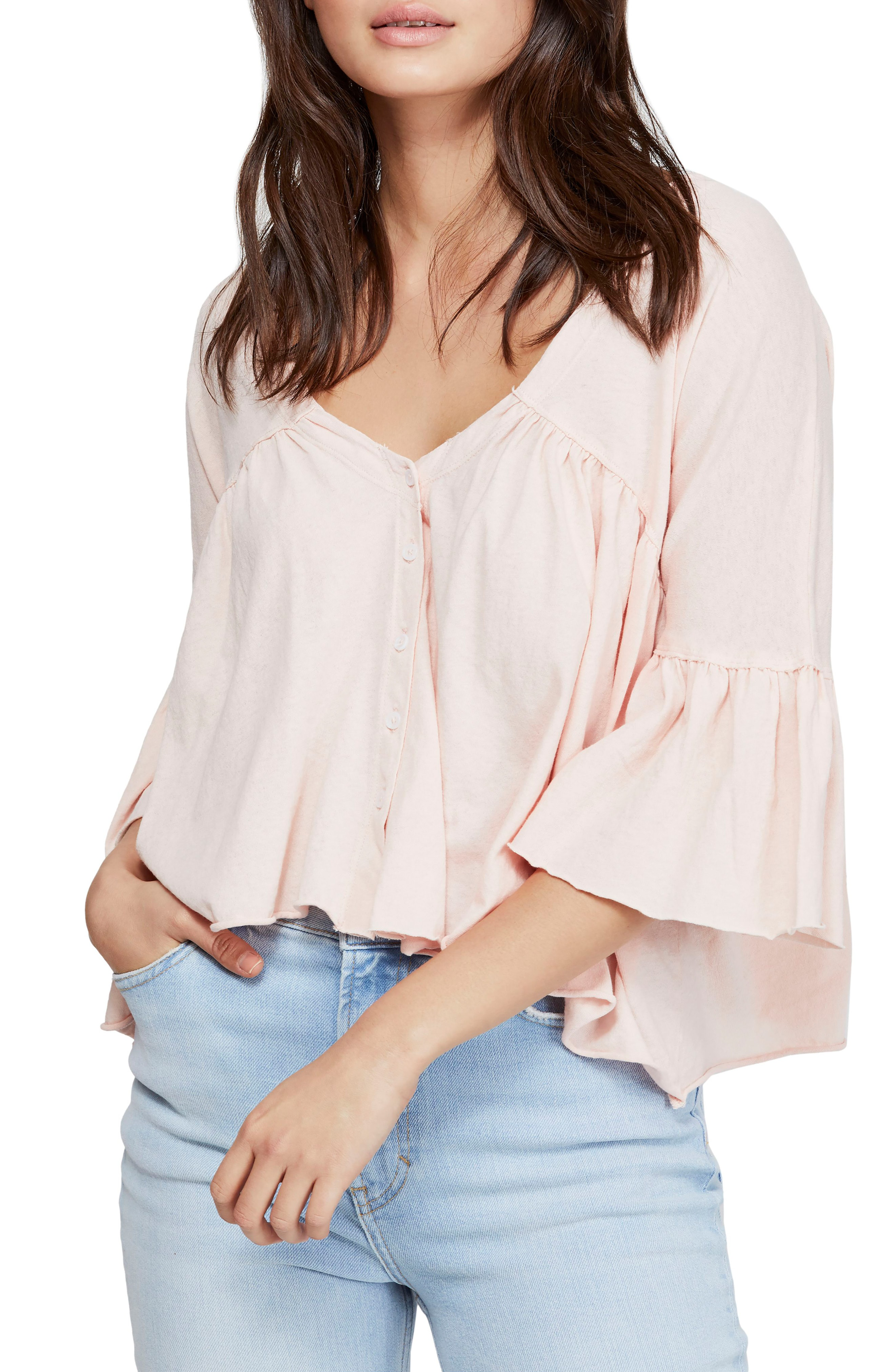 Details about  /Free People Women/'s Sweet Little Tee  X-Small Ivory