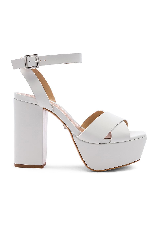 a155ff88c585 Schutz Women s Saphire High-Heel Platform Sandals In White