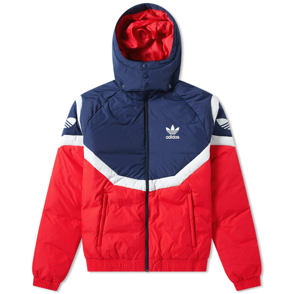 new arrivals 3938c b9df4 Adidas Sportive Down Jacket in Red