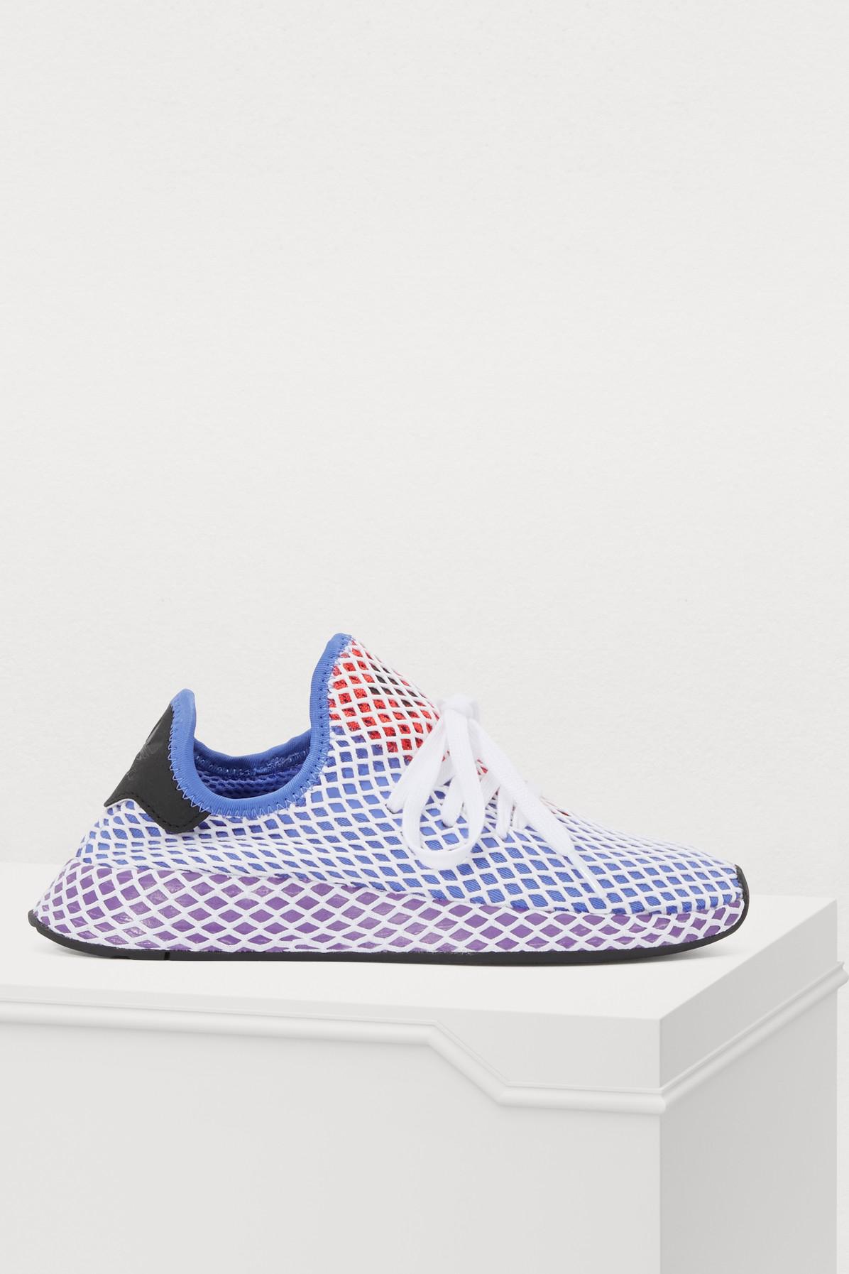 0a5be4b9de57f Adidas Originals Deerupt Runner W Sneakers In Lilaut Vioact Roucho ...