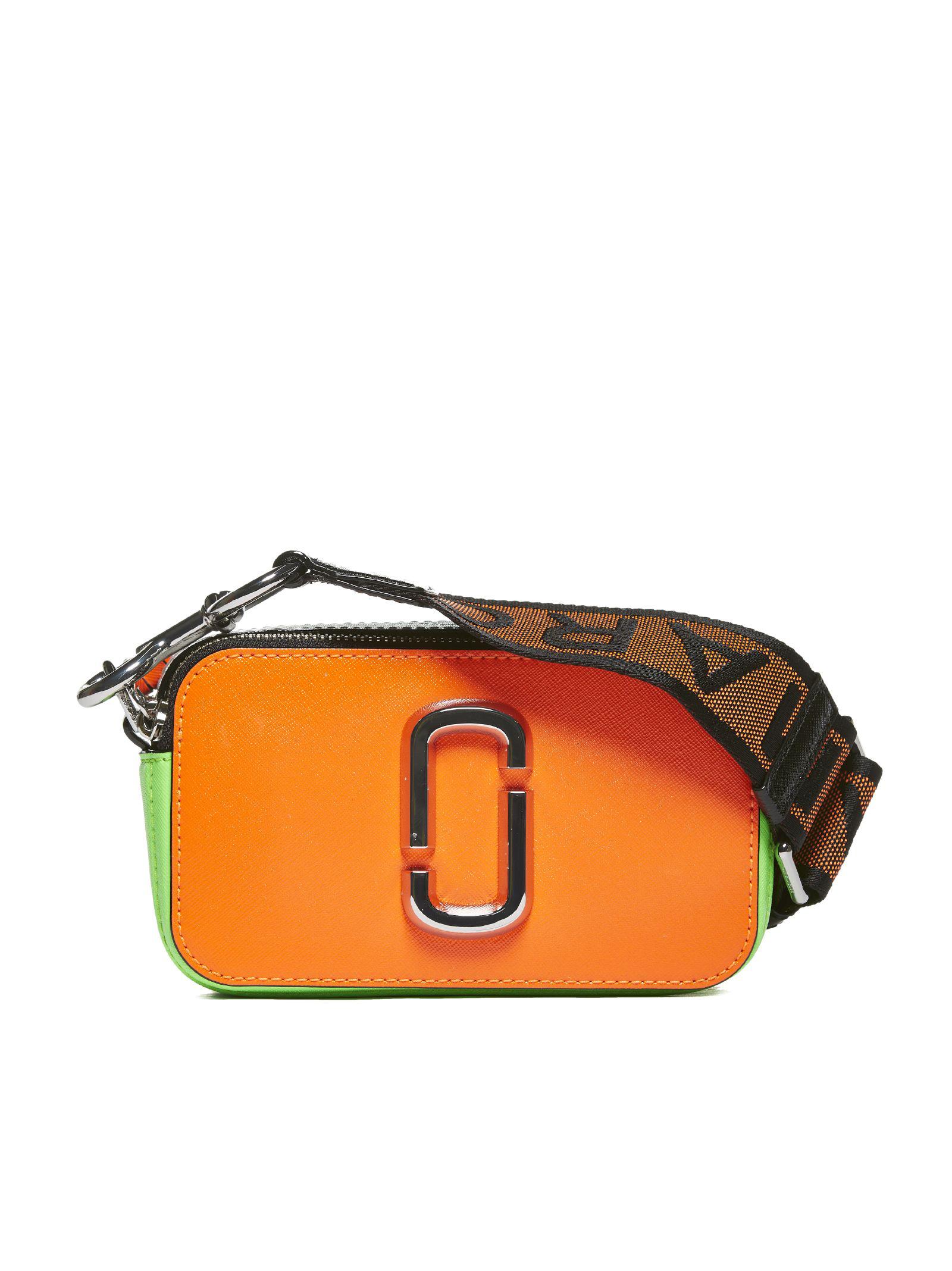 5596b2c0f22 Marc Jacobs Snapshot Camera Shoulder Bag In Arancio Verde | ModeSens