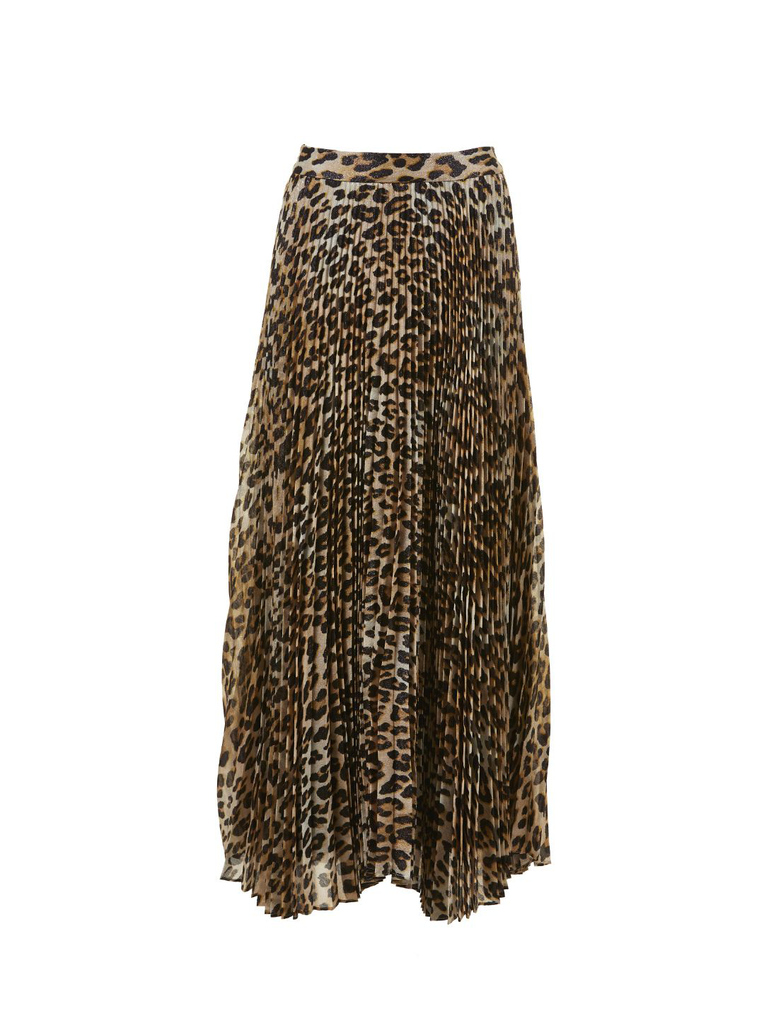 17d38d4b38 Alice And Olivia Katz Leopard Print Skirt In Beige | ModeSens