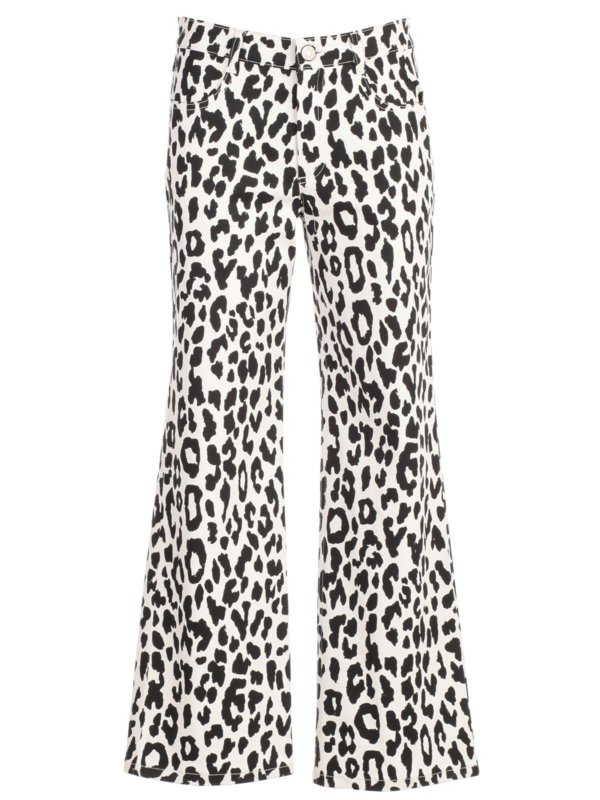aaefd3fd4e43 See By ChloÉ Leopard Print Trousers | ModeSens