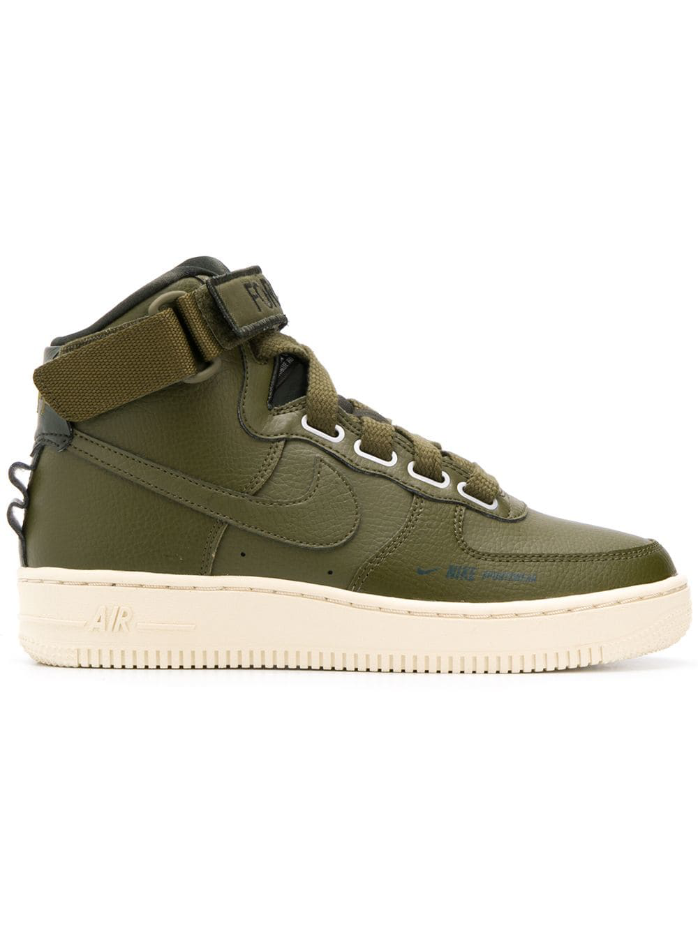 the latest 37fcf 83714 Nike Air Force 1 High Utility Sneakers - Green