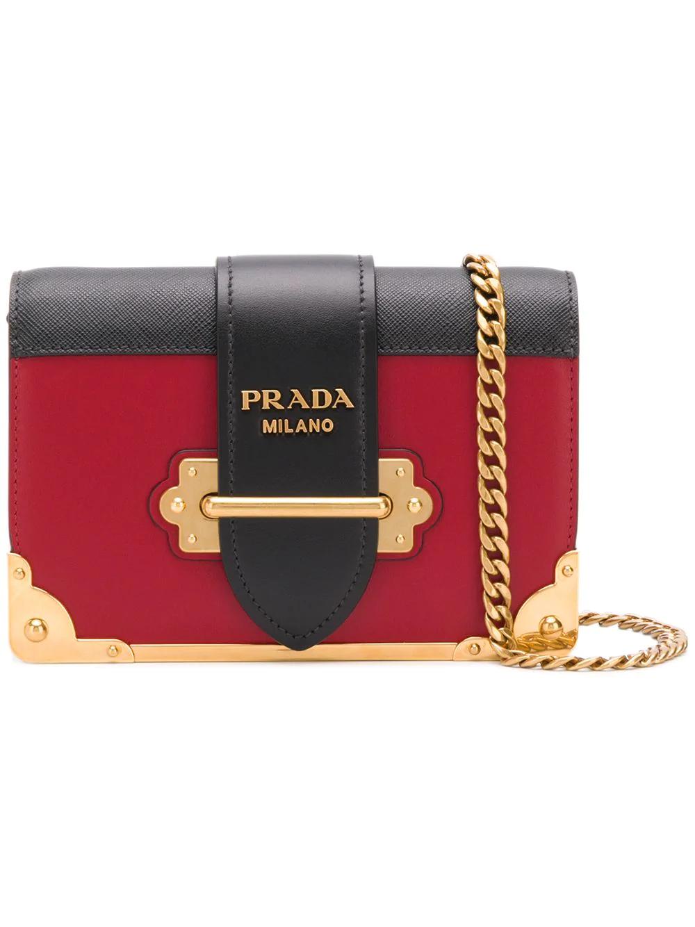 0b76a56d0 Prada Small Cross Body Bag - Red   ModeSens