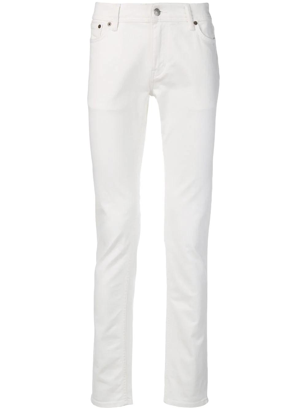 e5fb5c77 Acne Studios North Slim Fit Jeans - White | ModeSens