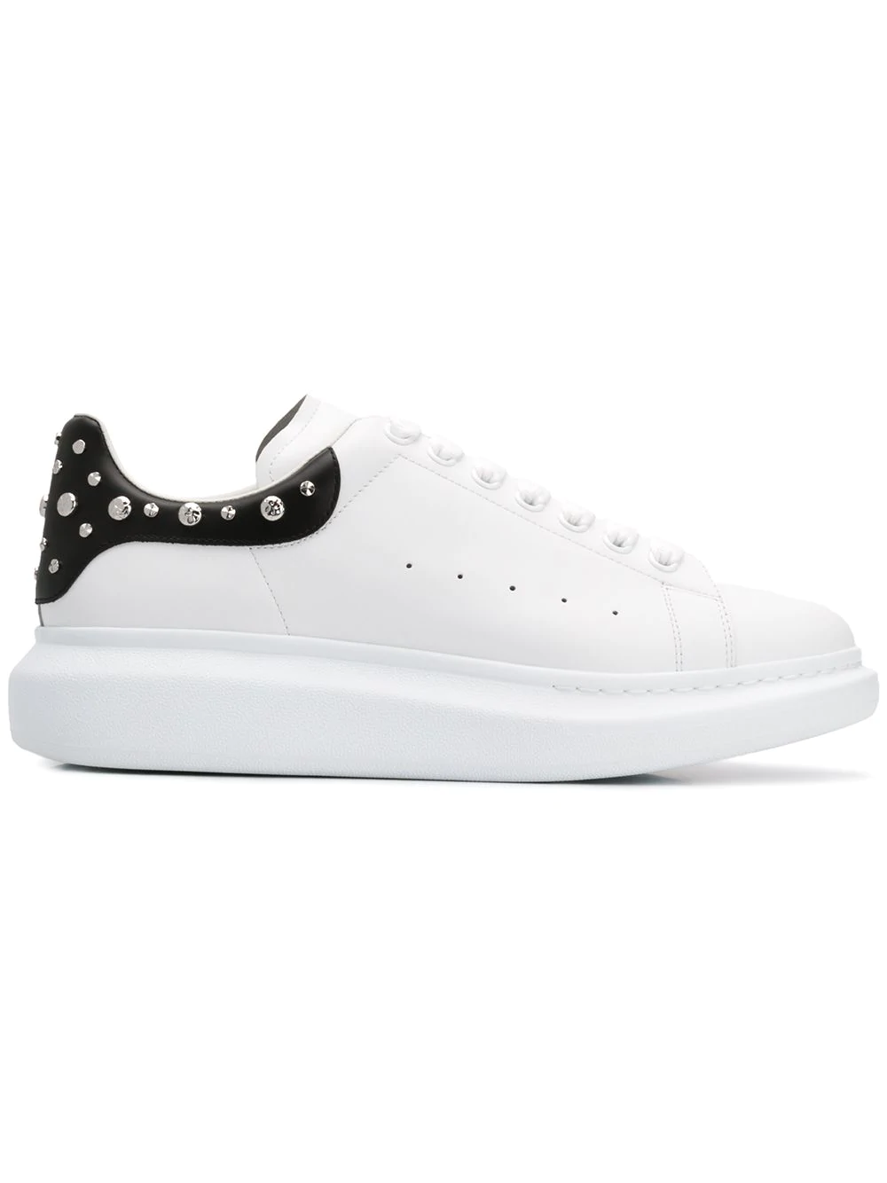1e862b62fa17 Alexander Mcqueen Men s Larry Leather Lace-Up Platform Sneakers With Spiked  Trim