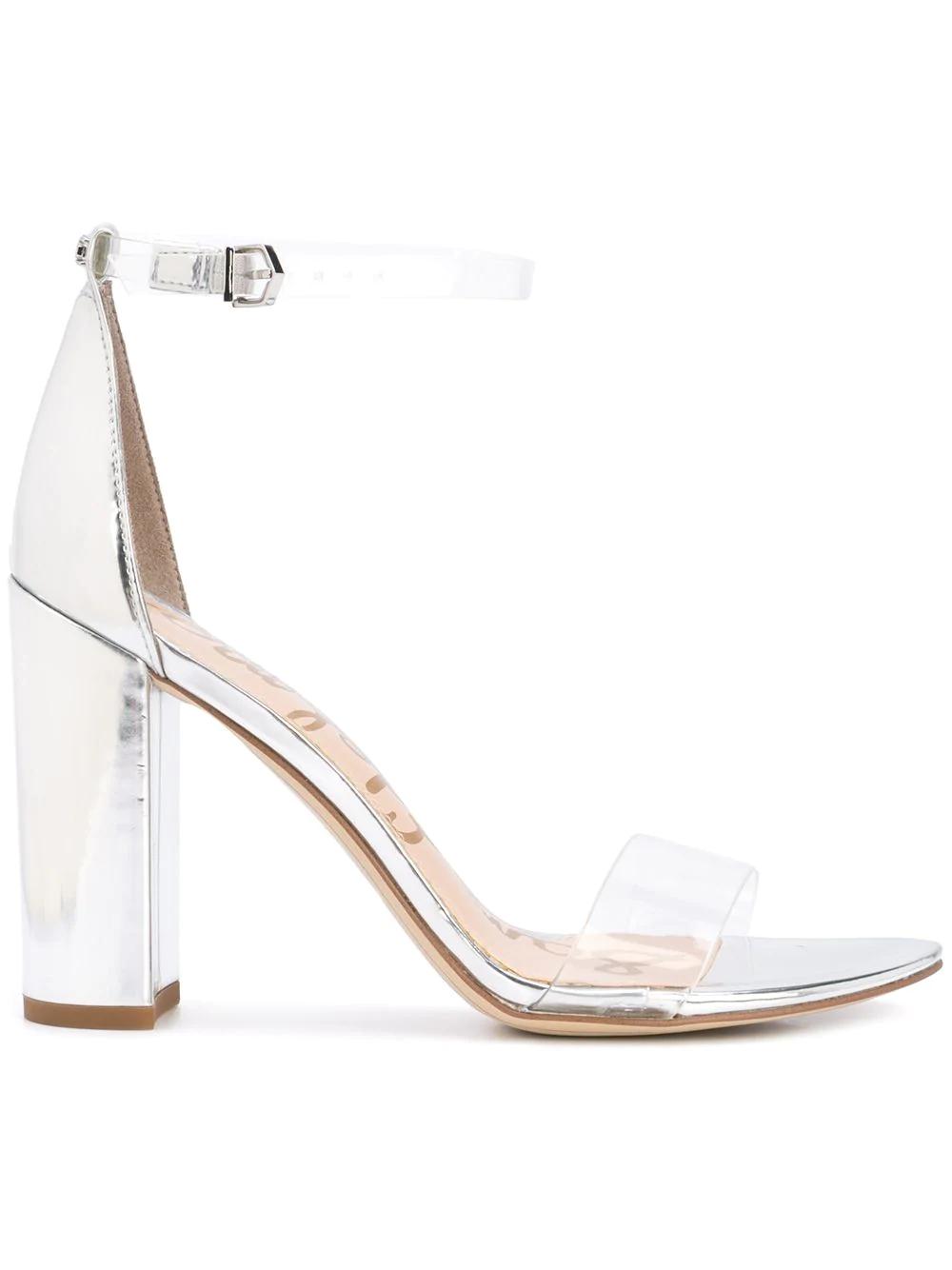6351e80cc96 Sam Edelman Yaro Sandals In Silver