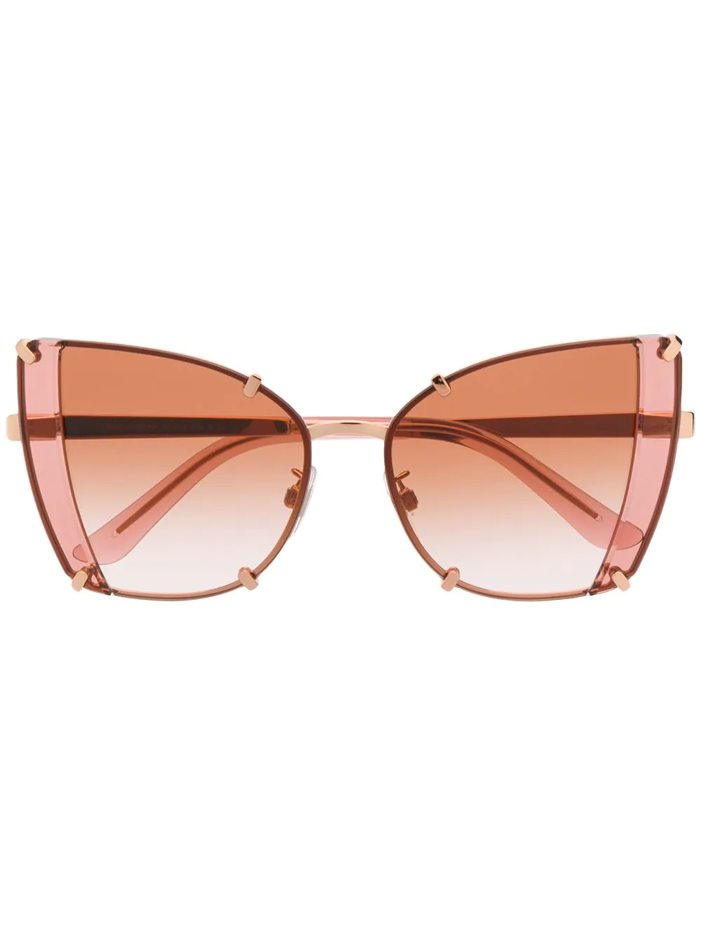 e94ff8f7275 Dolce   Gabbana Eyewear Faceted Butterfly Sunglasses - Pink