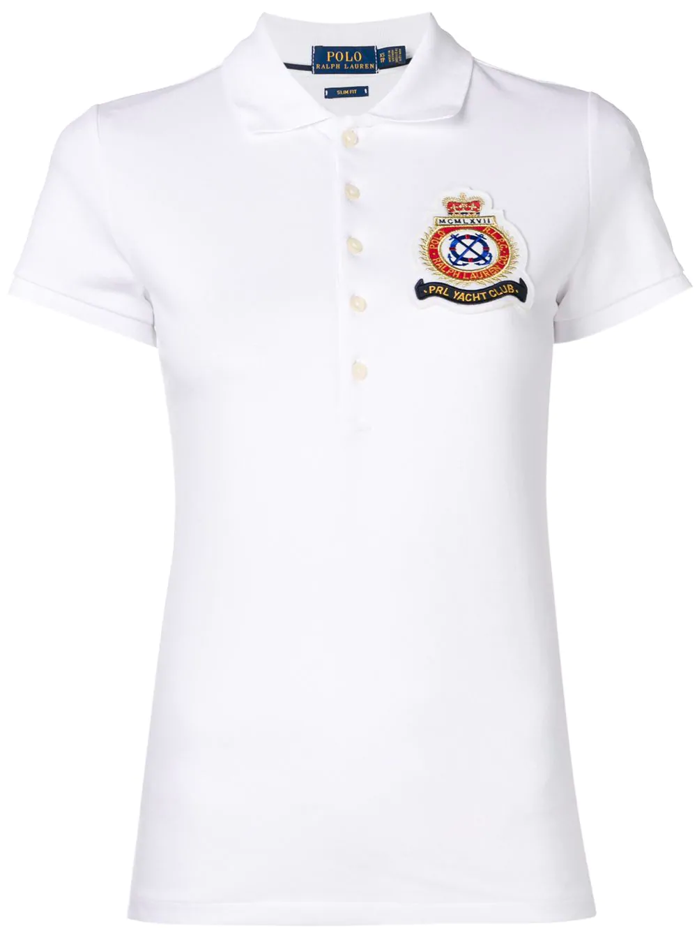 1df3f1a6fc1cfd Polo Ralph Lauren Pikee-Poloshirt - Weiß In White