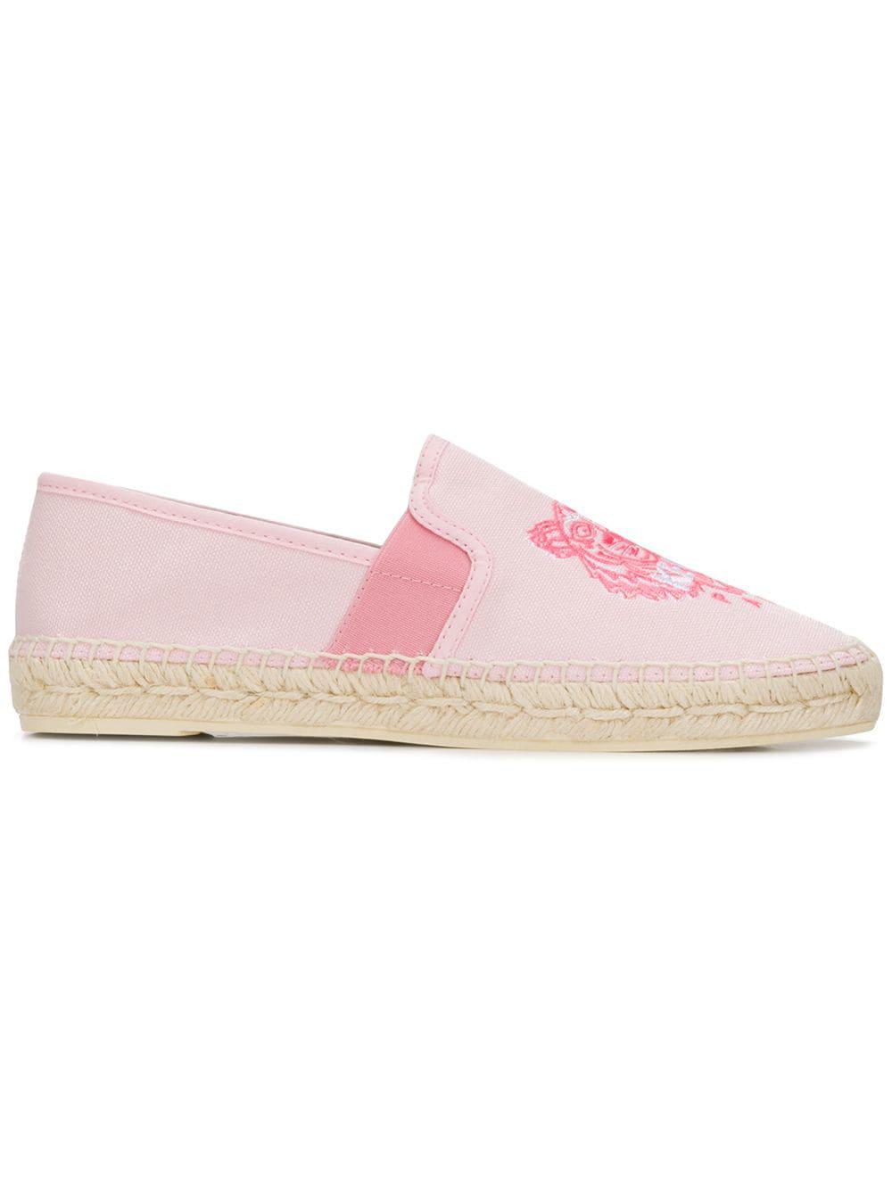 caae22856ec Kenzo Women's Classic Espadrille Flats In Pink | ModeSens