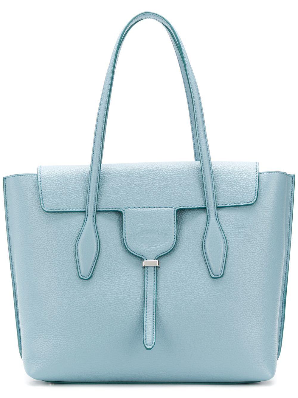 edf1a6e9f Tod's Joy Medium Tote Bag - Blue | ModeSens