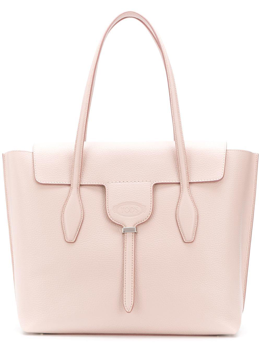 b5c36dde80 Tod's Joy Medium Tote Bag - Pink   ModeSens