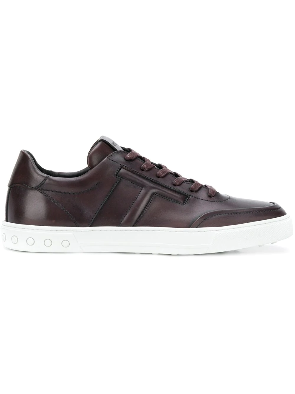 7b72f16978 Tod's Classic Low-Top Sneakers - Brown   ModeSens