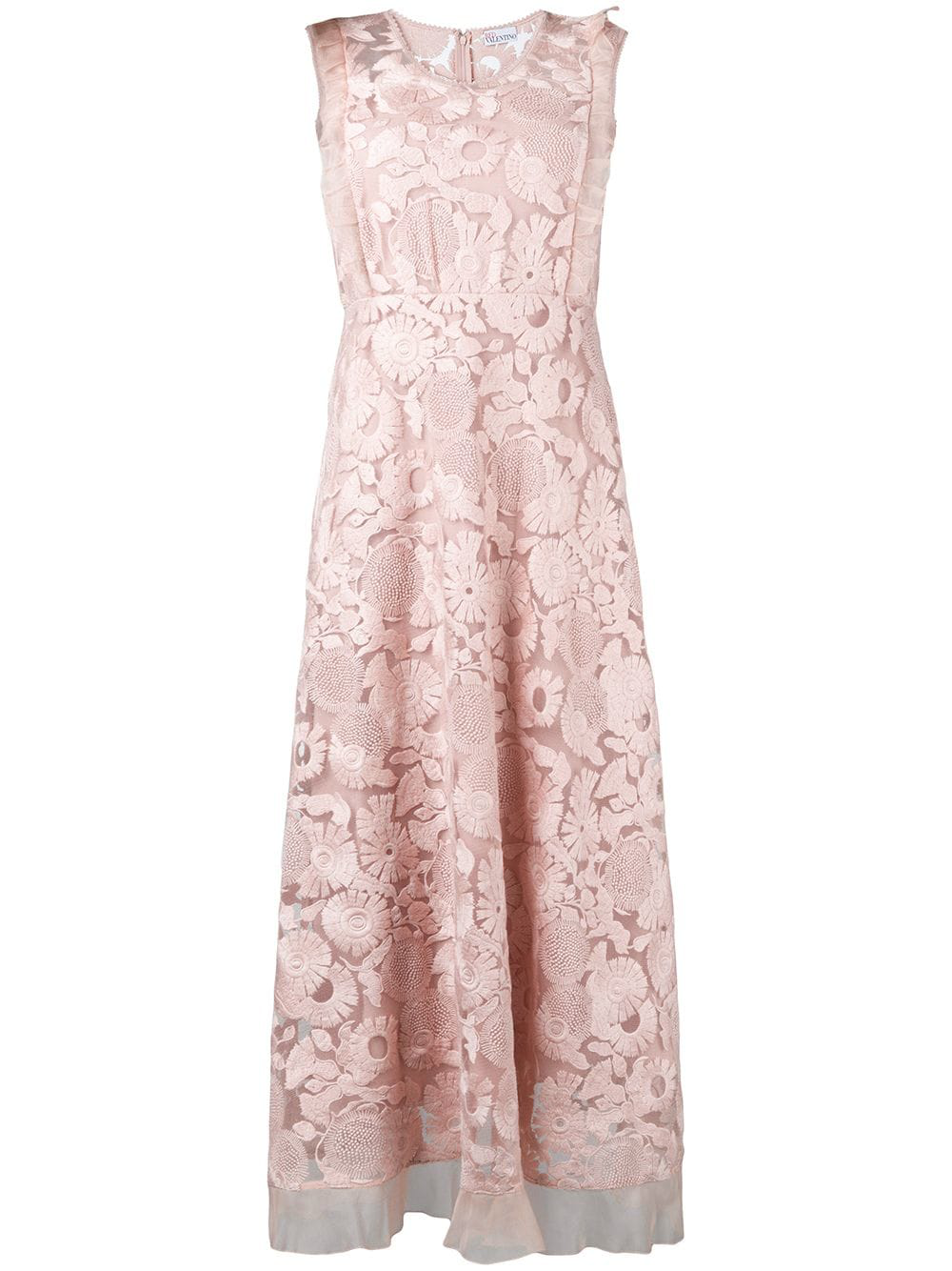 38a2dd628931c Red Valentino Floral Lace Dress - Pink   ModeSens