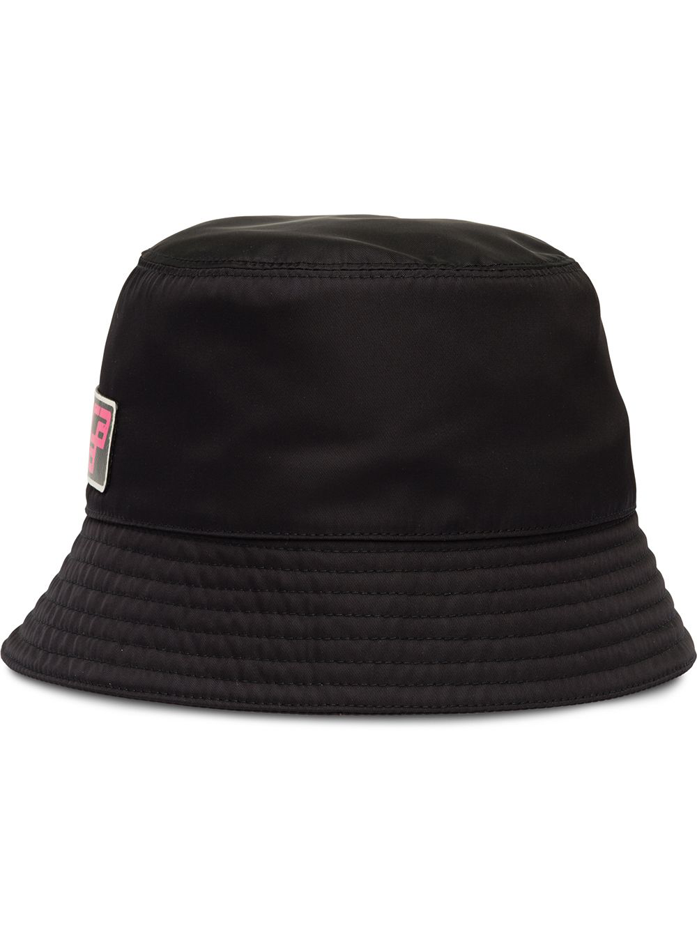 d6344d2bc5a Prada Nylon Cap With Logo - Black