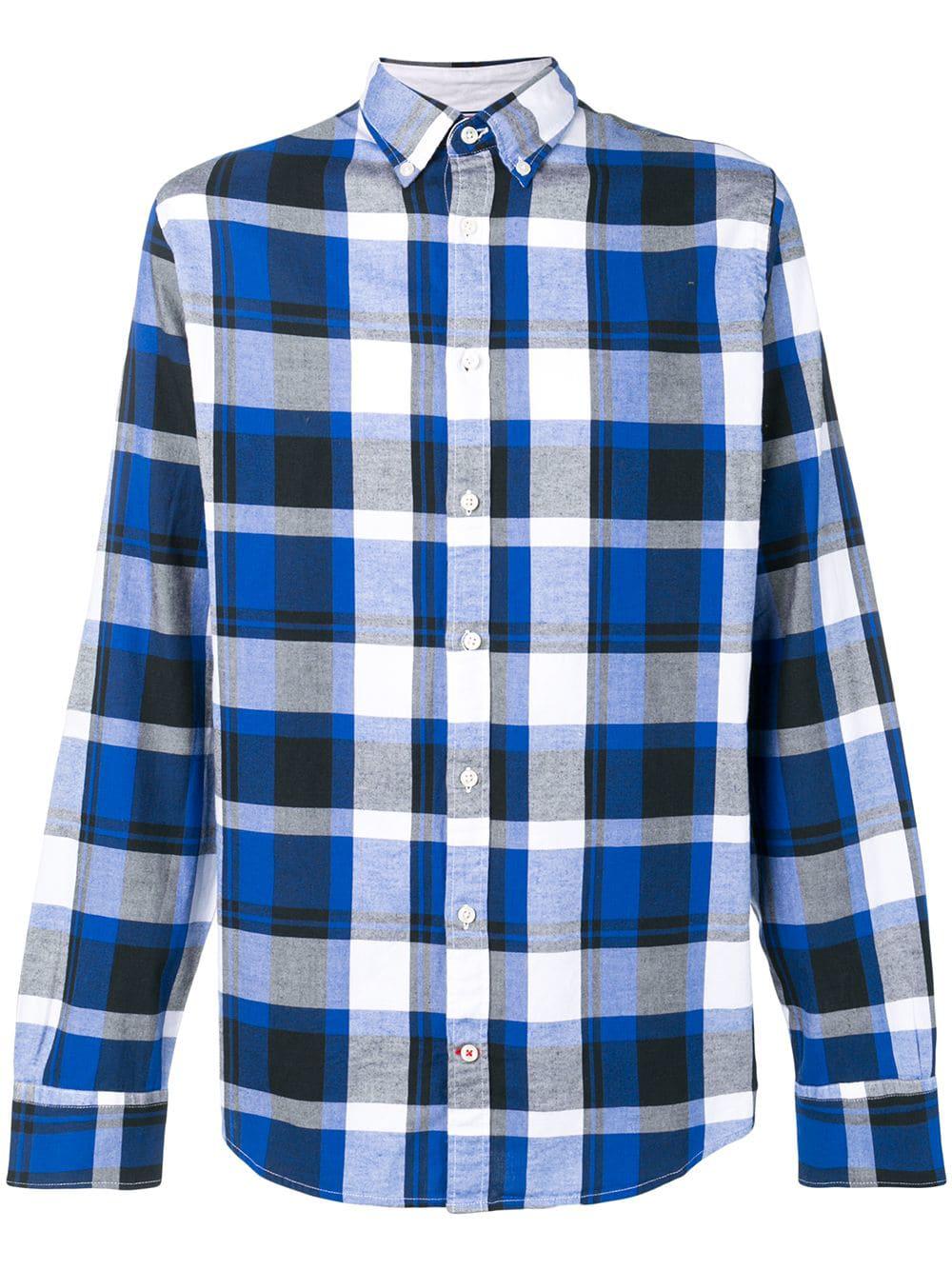 8b6823b7 Tommy Hilfiger Plaid Button Down Shirt - Blue   ModeSens