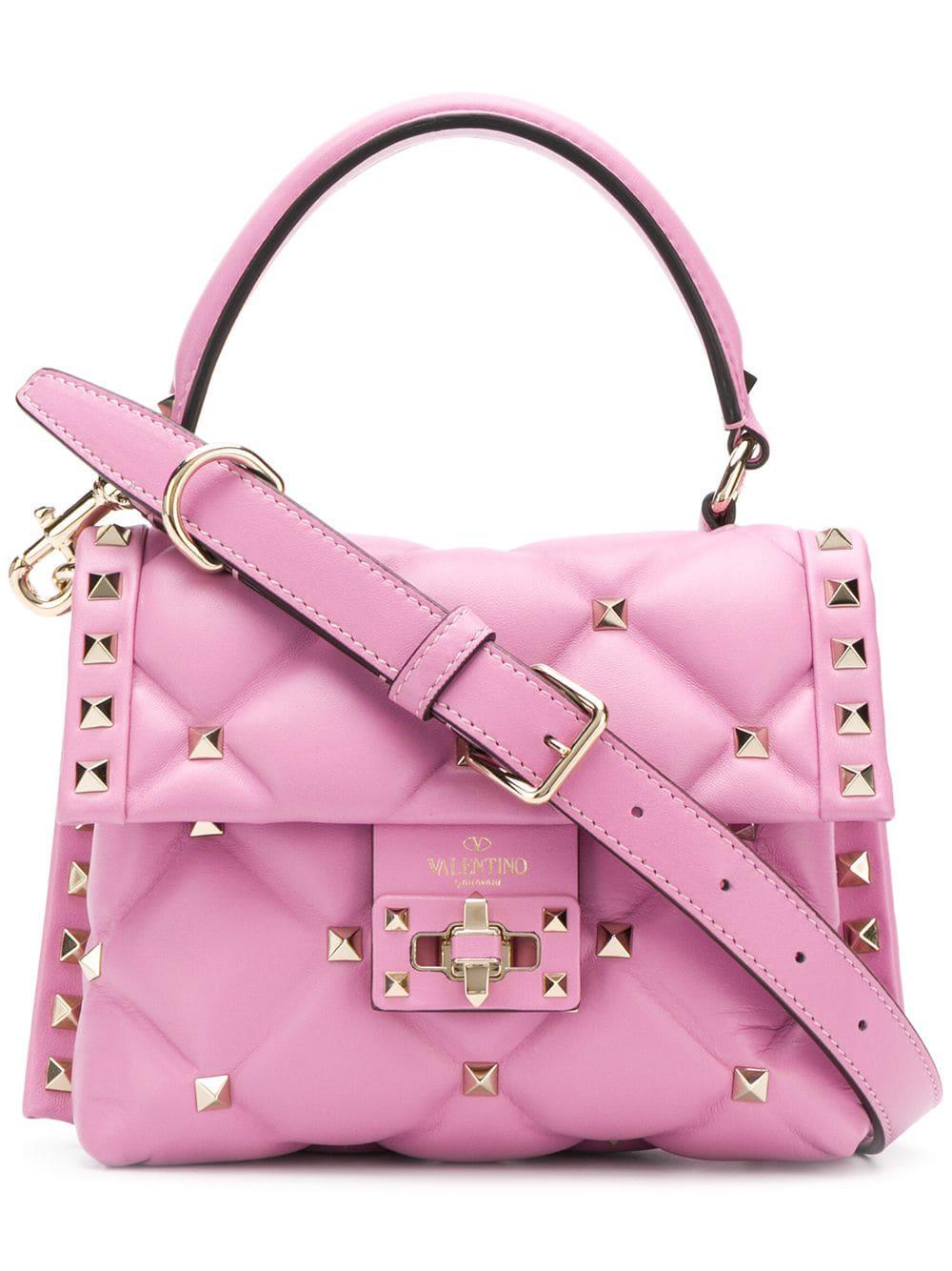 d1710674c89 Valentino Garavani Candystud Mini Tote - Pink | ModeSens
