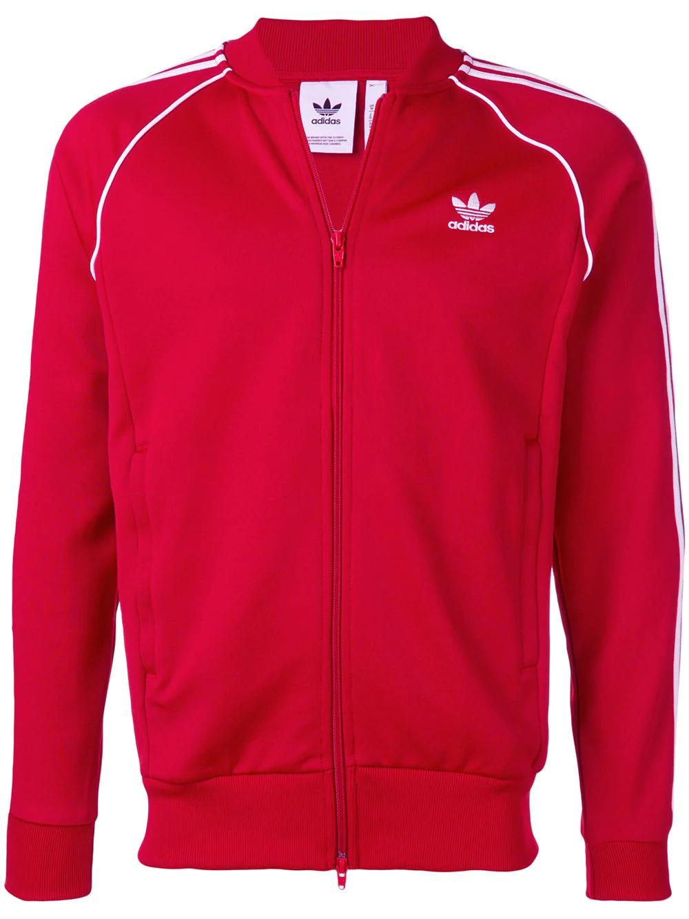 Adidas Originals SST Trainingsjacke rot