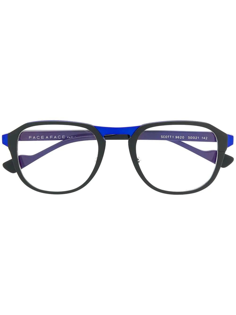 afa672e330 Face À Face Scott 1 Glasses - Black