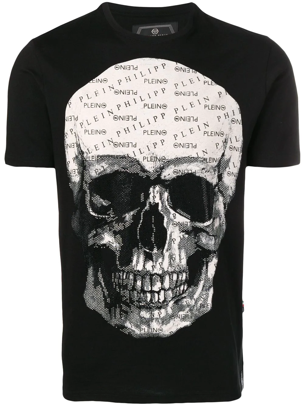 78e944ec58 Philipp Plein Skull T-Shirt - Black   ModeSens