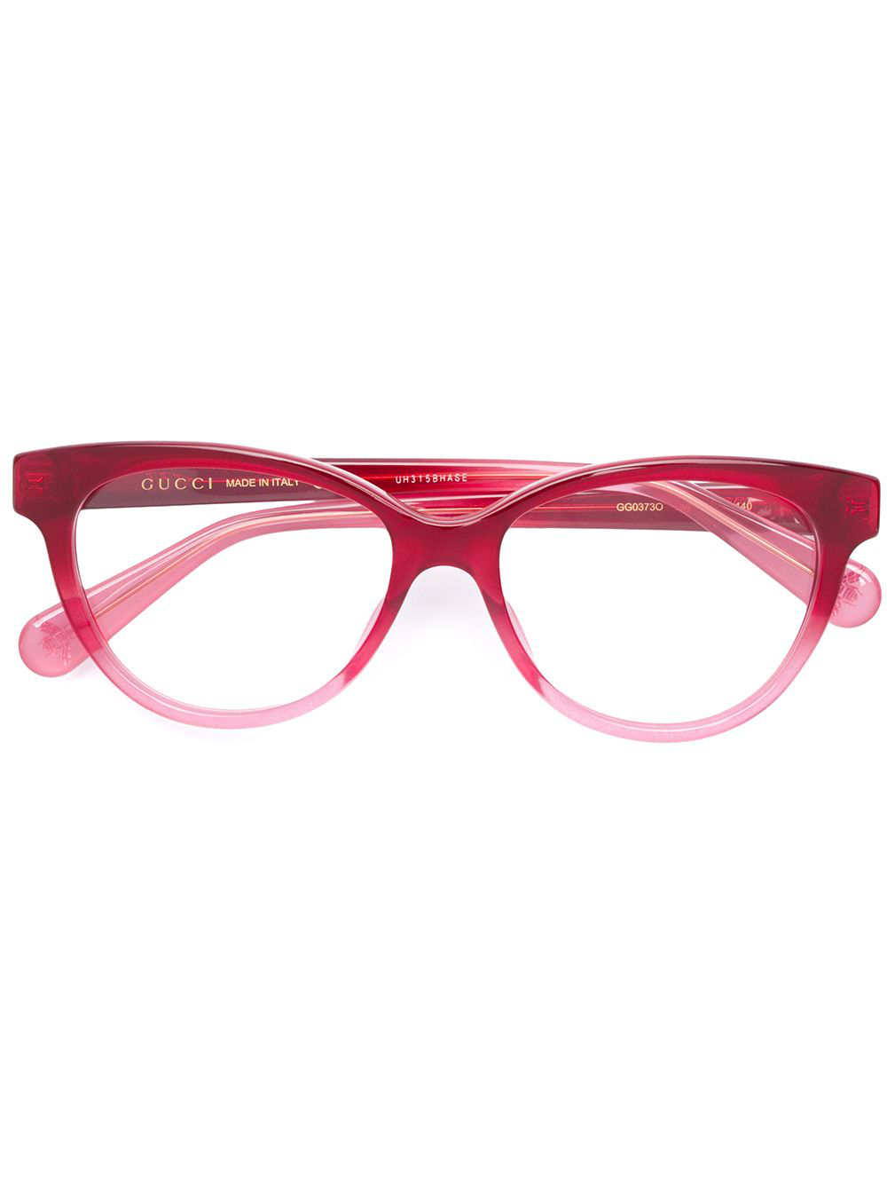 ad697562d3a Gucci Eyewear Cat Eye Glasses - Red