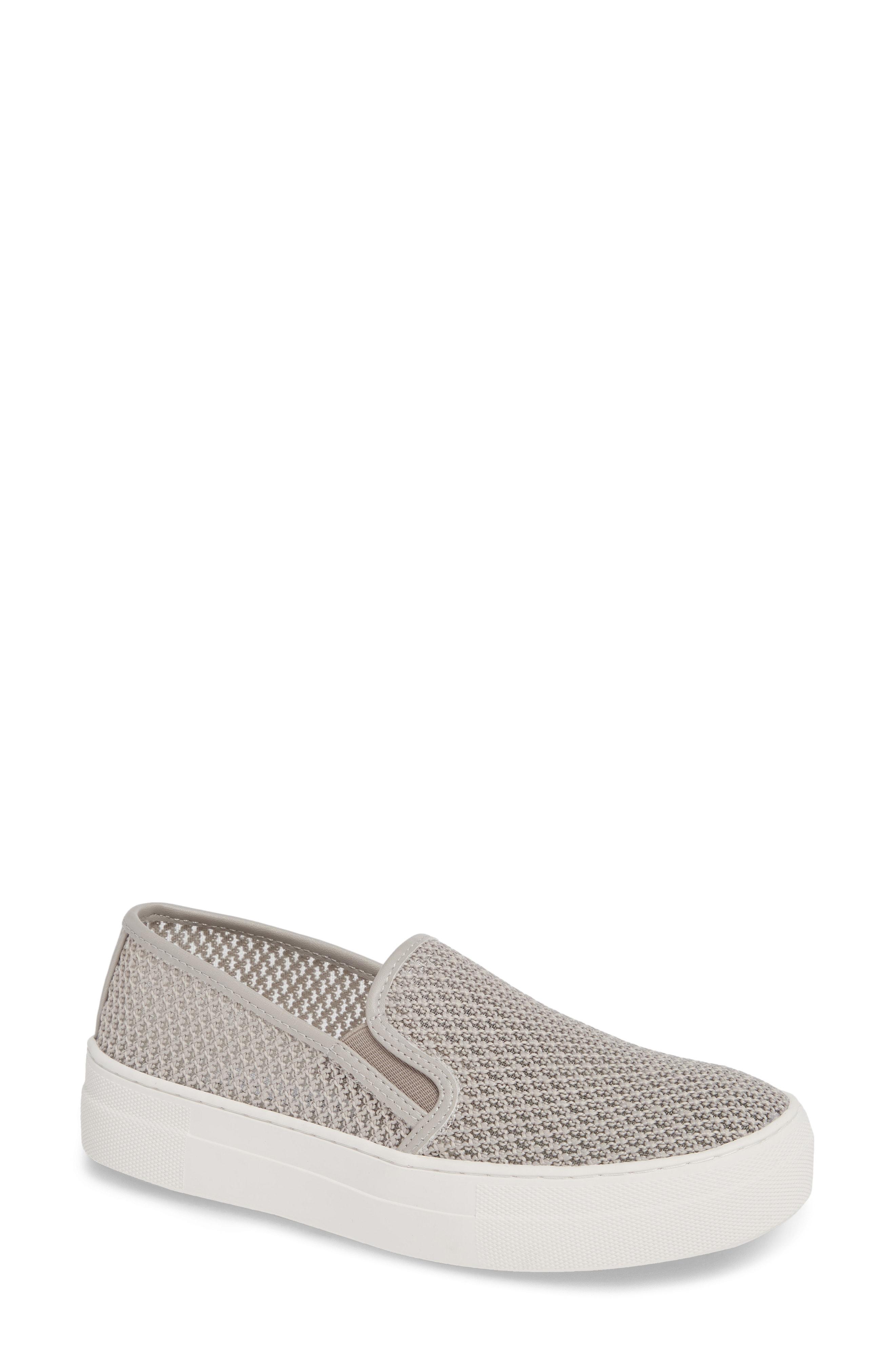 6d67de6c884a Steve Madden Gills-M Mesh Slip-On Sneaker In Grey