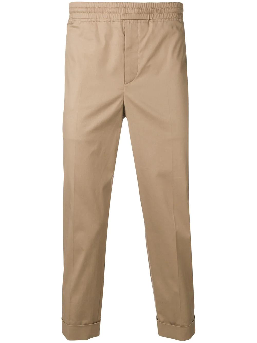 f462384c50aed Neil Barrett Slim Fit Joggers - Neutrals | ModeSens