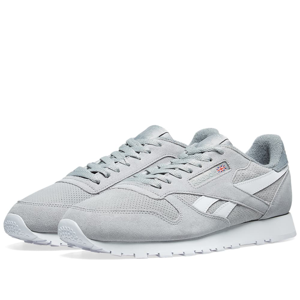 new styles f72f3 28999 Reebok Classic Leather Suede In Grey