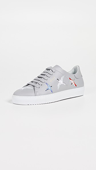 ddd48a04e15 Axel Arigato Clean 90 Bird Leather Sneakers In Light Grey