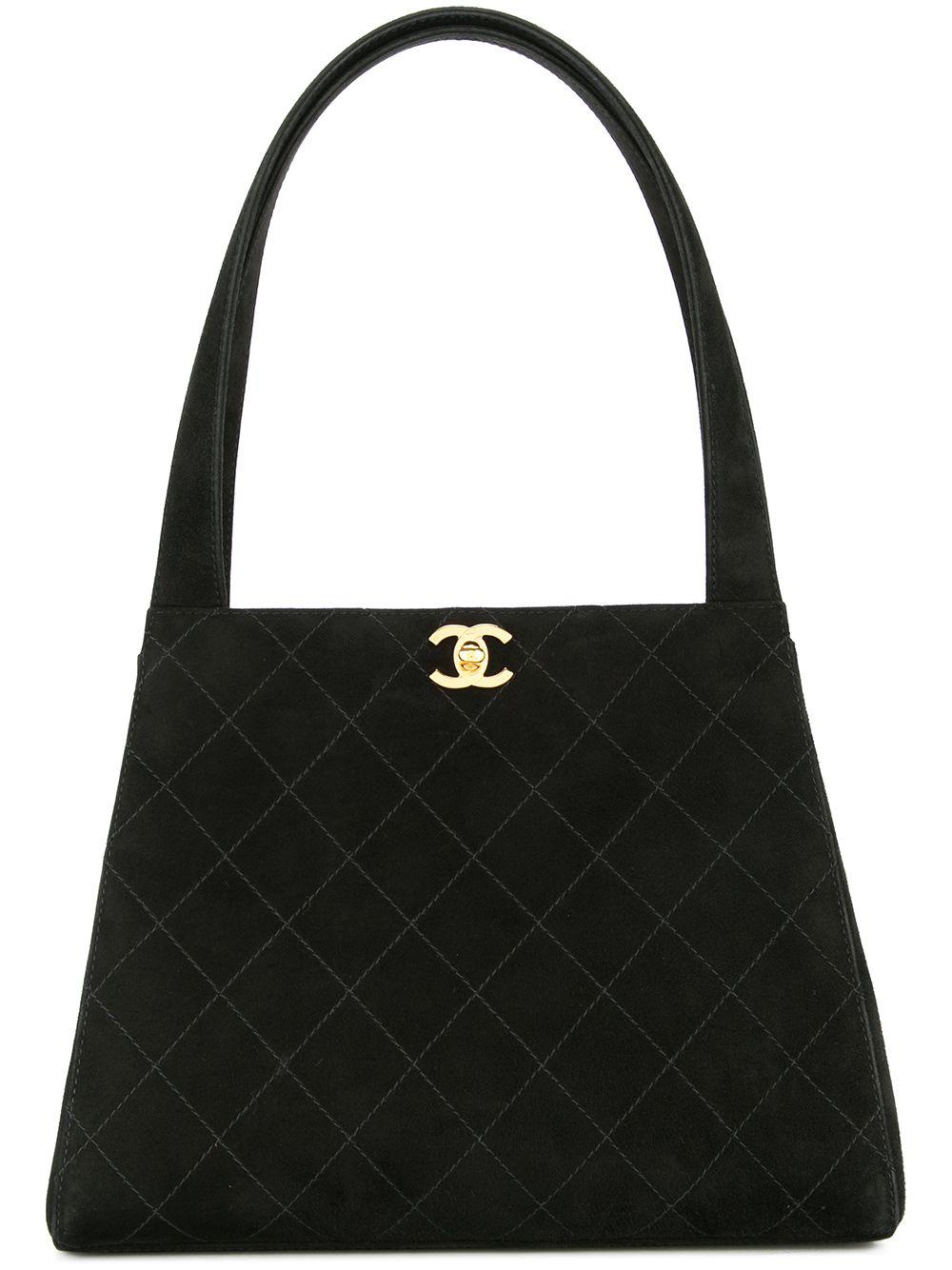 33d903680537 Chanel Pre-Owned Cc Logos Shoulder Bag - Black | ModeSens