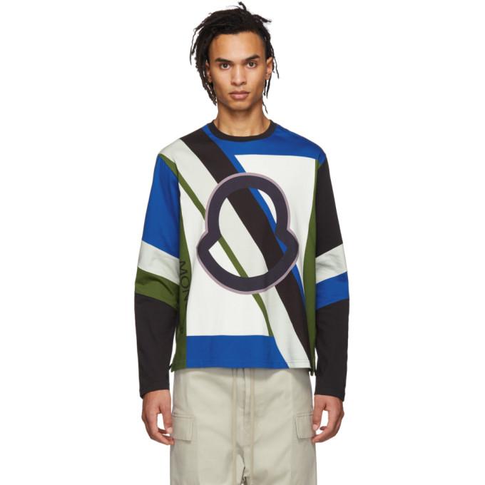 03c3da1a Moncler Genius 5 Moncler Craig Green Multicolor Logo Long Sleeve T-Shirt In  978-