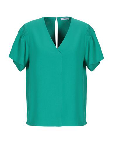 d55548d23e594 Suncoo Blouses In Emerald Green