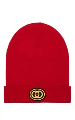 2ce373ba962 Gucci Ny Yankees Trade  Wool Beanie In Red