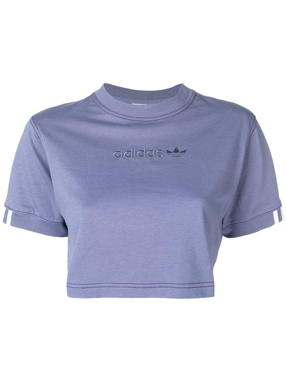 eec253e2d47 Adidas Originals Adidas Coeeze Cropped T-Shirt - Purple