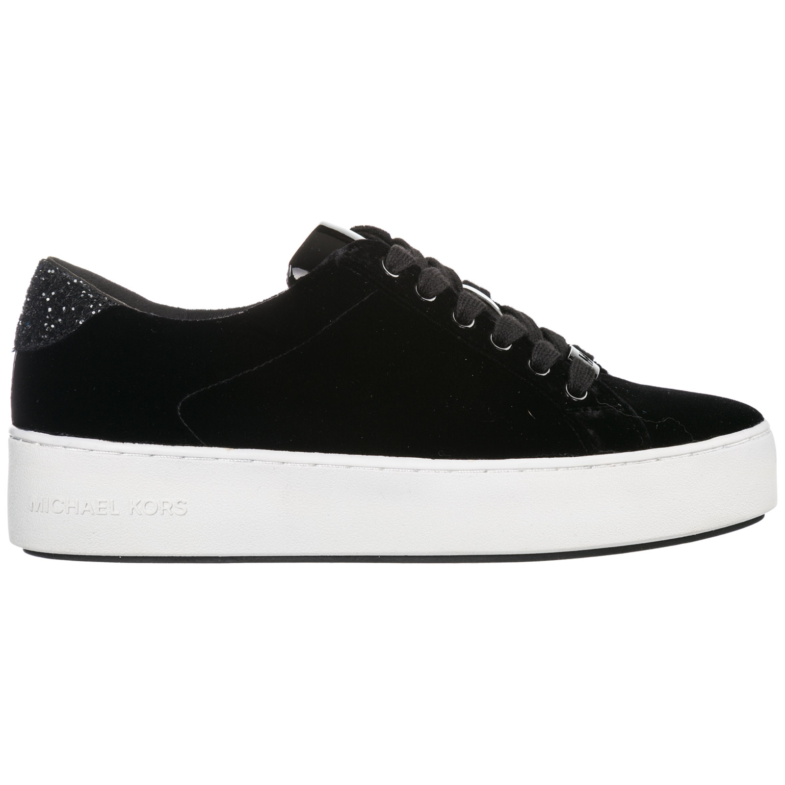 Established theory Miss use  Michael Kors Women's Shoes Trainers Sneakers Poppy In Black   ModeSens