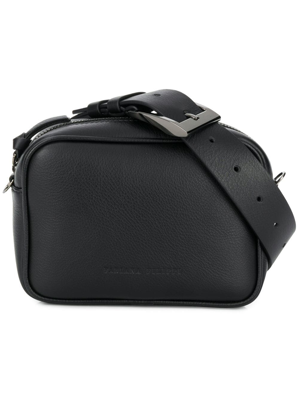 ce1c55d227 Fabiana Filippi Embossed Logo Mini Bag - Black In Vr4 Black | ModeSens