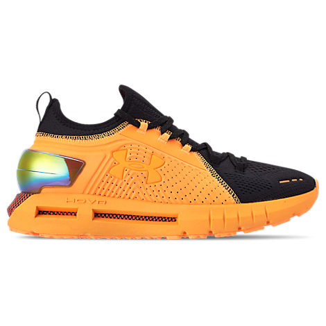 new arrival bb897 9615b Men's Hovr Phantom Se Md Running Sneakers From Finish Line in Mango Orange  / Black / Pa