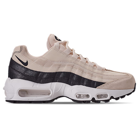 wholesale dealer 0b0fd cd6c8 Women's Air Max 95 Premium Casual Shoes, White