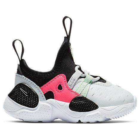Nike Girls' Toddler Huarache E.d.g.e Casual Shoes In White