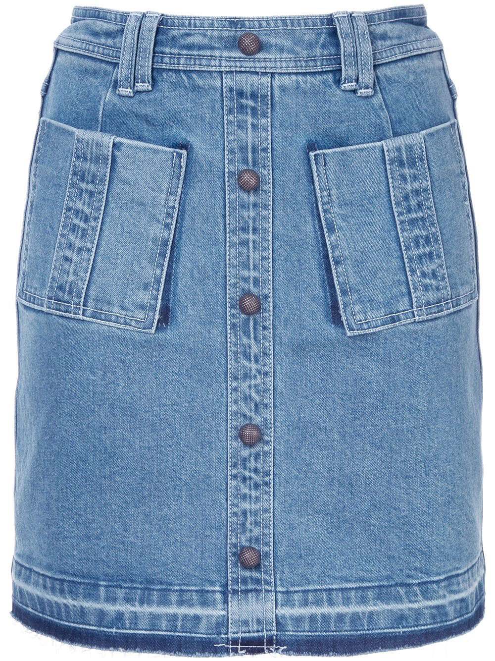 4fe88544ee Stretch Waistband Denim Skirt – DACC