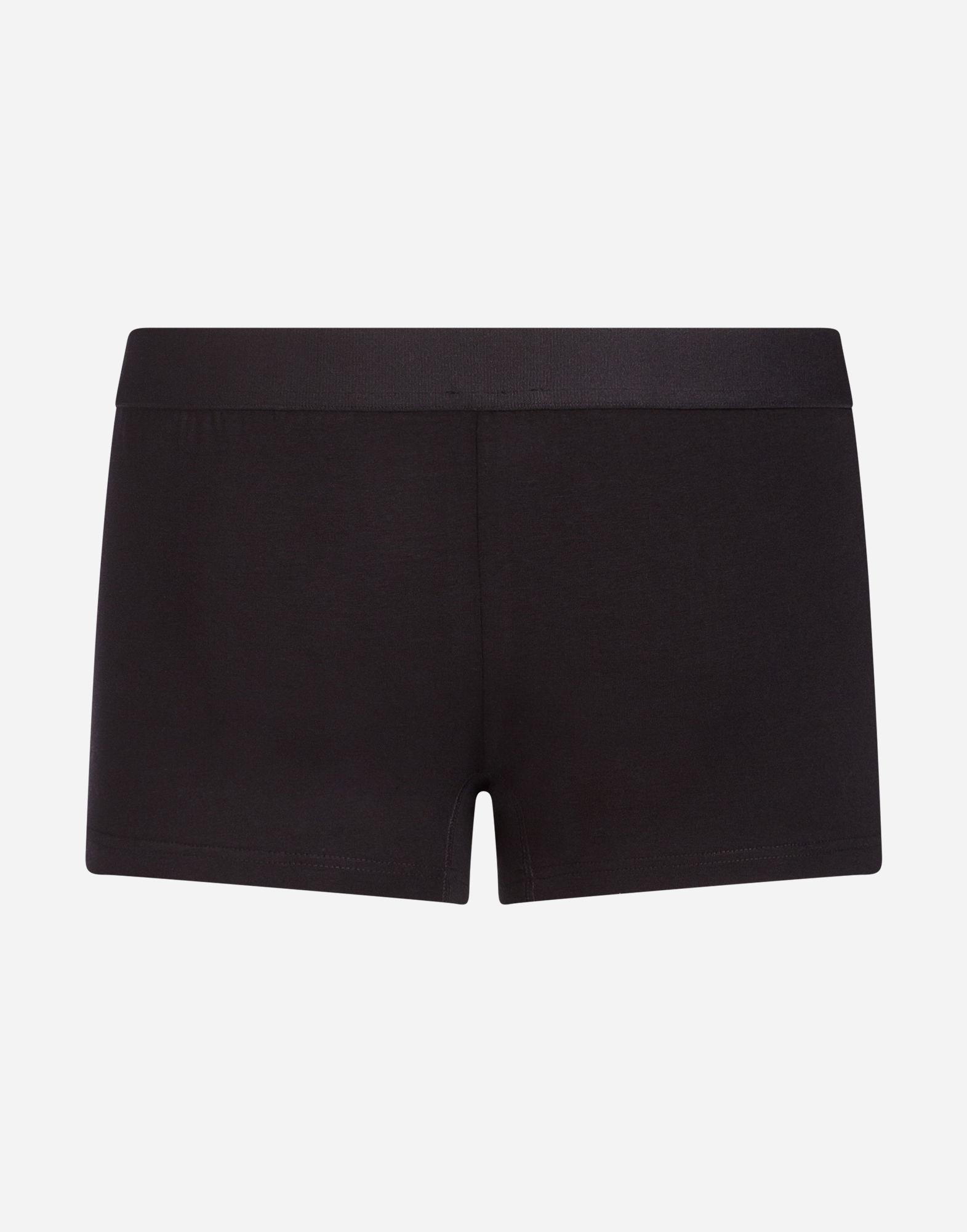 Dolce & Gabbana Black Stretch Cotton Boxer Briefs