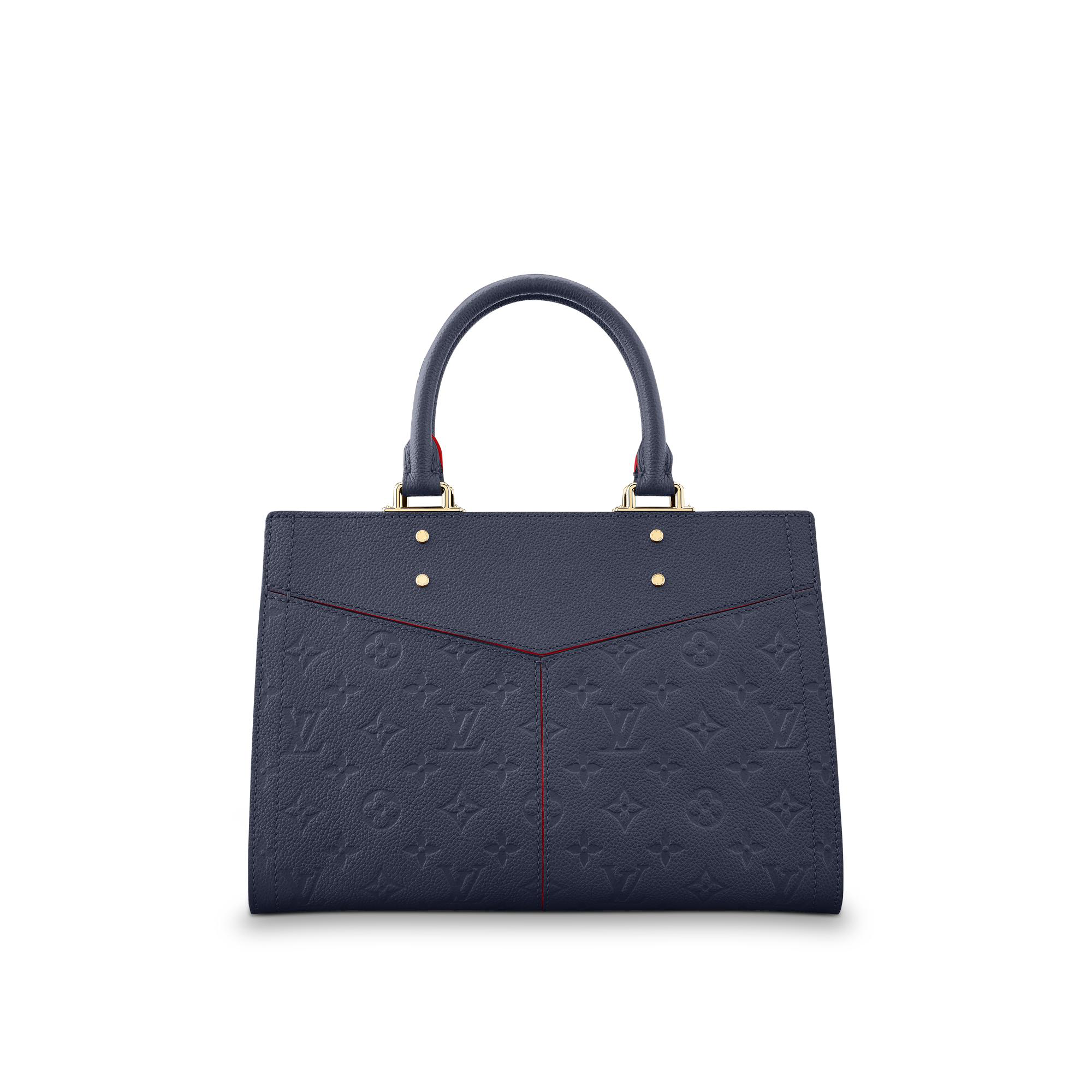 fd38a95ebe4c Louis Vuitton Sully Pm In Marine Rouge