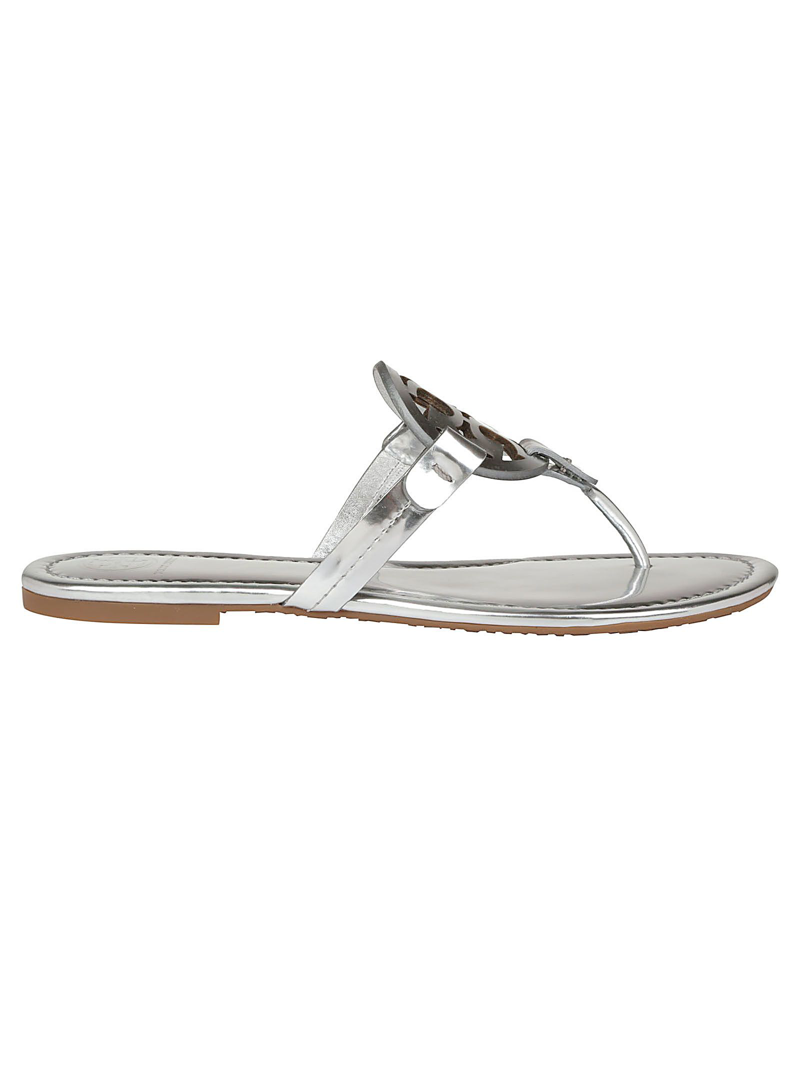 2c72ad89d264 Tory Burch Miller Sandal In Silver