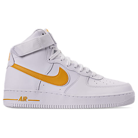 sports shoes ca81a c7eee Nike Men S Air Force 1 High  07 3 Casual Shoes, White
