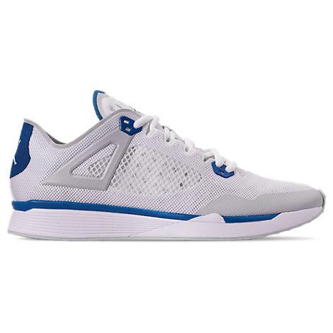 Jordan Men's Jordan 89 Racer Running Shoes In White Size 8.5