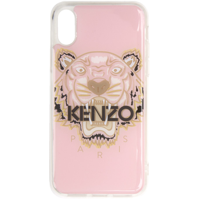 2190a4c7 Kenzo Pink And Brown Tiger Iphone X/Xs Case in 33 Paspink