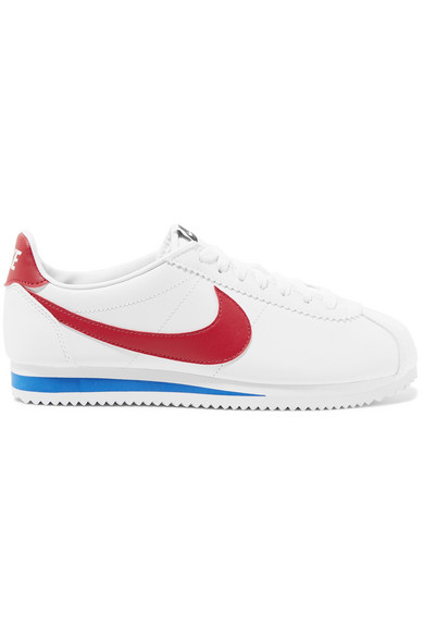 new style 6bcc3 92777 Nike Women s Classic Cortez Leather Casual Shoes, White