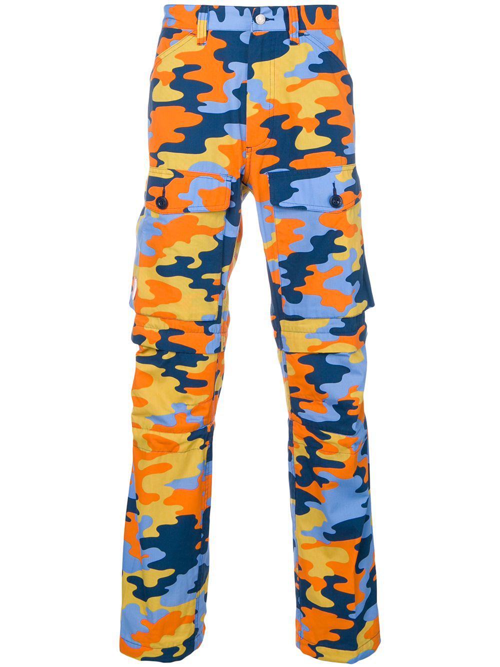 f71adb51128 Acne Studios X FjäLlräVen Cargo Trousers - Blue In Ai2-Blue/Orange ...